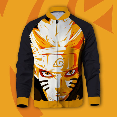 Eyes of Power : Nine-Tails Sage Mode Zipped Jacket