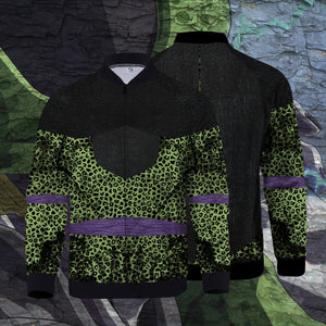 Cell Zipped Jacket