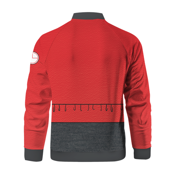 Red Blood Cell Zipped Jacket