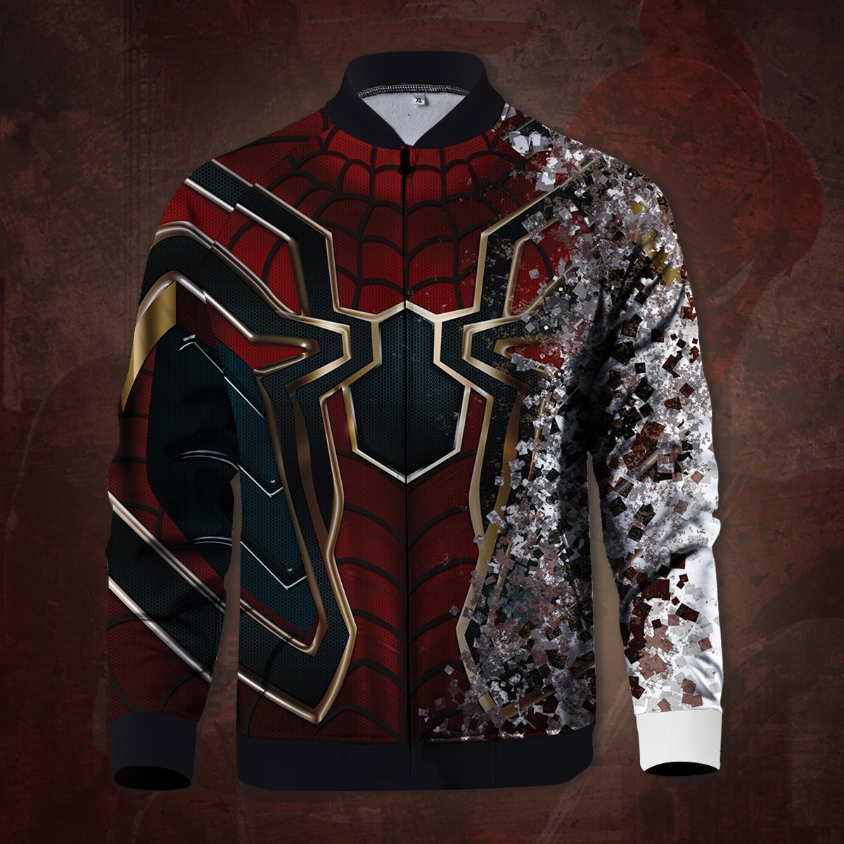 Death of Spider-man Zipped Jacket