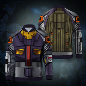 Gundam RX-178-MkII Zipped Jacket