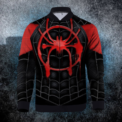 Into The Spider Verse Zipped Jacket