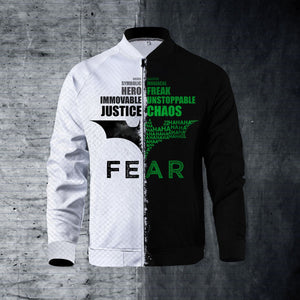 Justice and Chaos Zipped Jacket