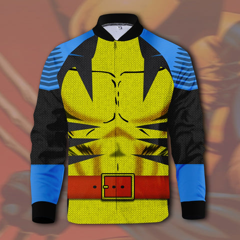 Logan Comic Zipped Jacket
