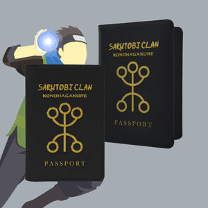 Sarutobi Clan Passport Cover