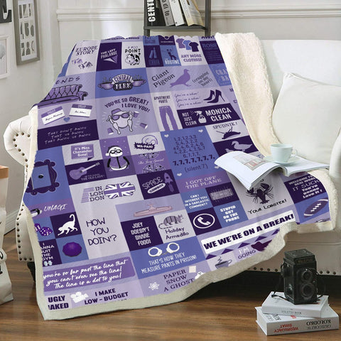 Catch Phrase Throw Blanket