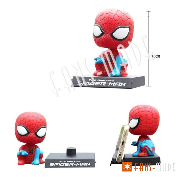 Superhero Head Shaking Car Doll Accessories