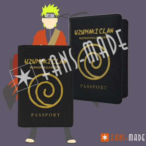 Uzumaki Clan Passport Cover Accessories