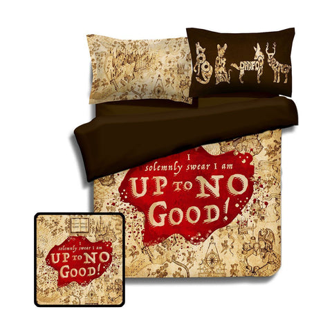 Bed Cover - Up To No Good Bedding Set