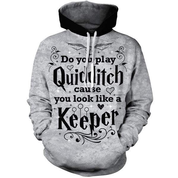 Hoodie - Do You Play Quidditch Unisex Hoodie