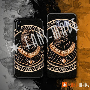 Phone Case - Black Panther Tribal Phone Case