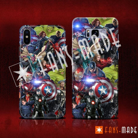 Phone Case - Earth's Heroes Phone Case