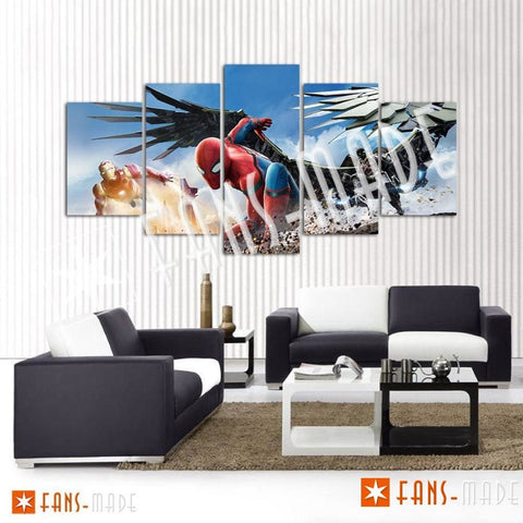 Wall Canvas - Another Day In NYC 5 Piece Canvas