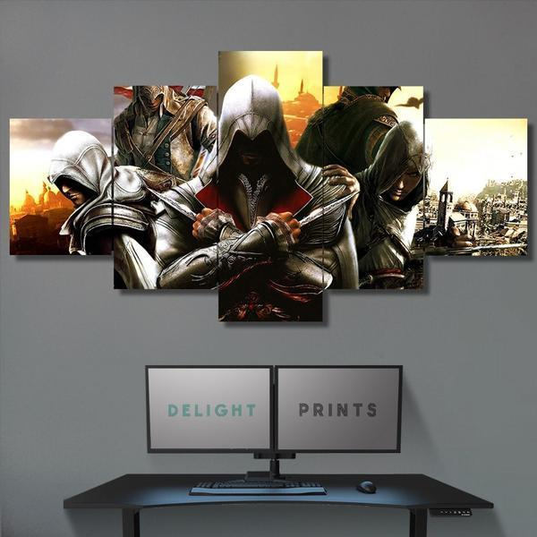 Wall Canvas - Assassin's Creed 5 Piece Canvas