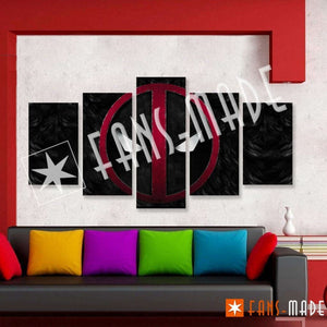 Wall Canvas - DP Eyes 5 Piece Canvas