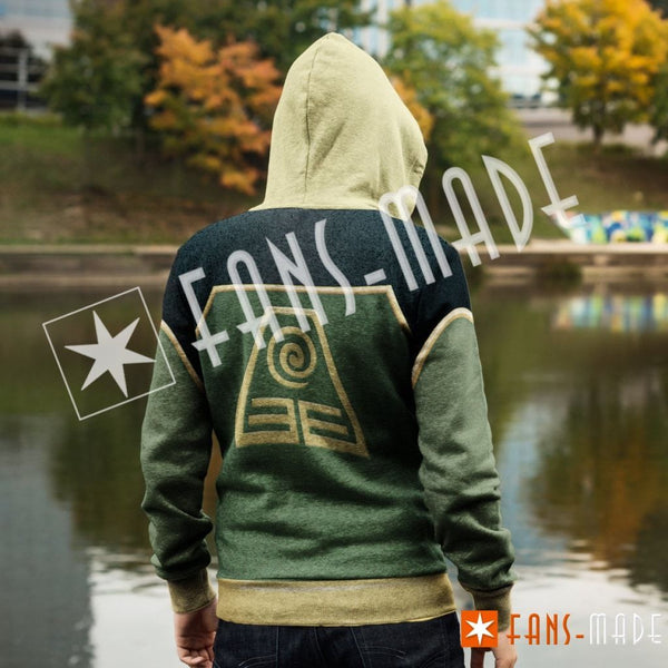Earth Kingdom Unisex Zipped Hoodie Zip