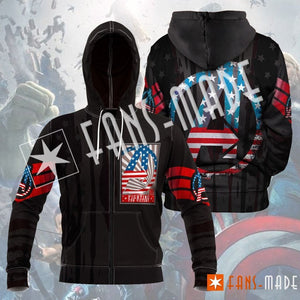 Fighting For Victory Unisex Zipped Hoodie S Zip