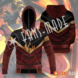 Fire Lord Ozai Unisex Zipped Hoodie S Zip