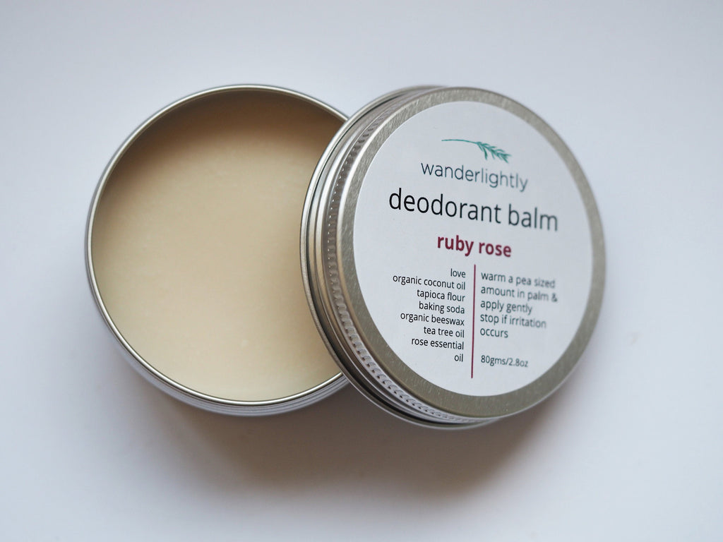RUBY ROSE - Natural Deodorant
