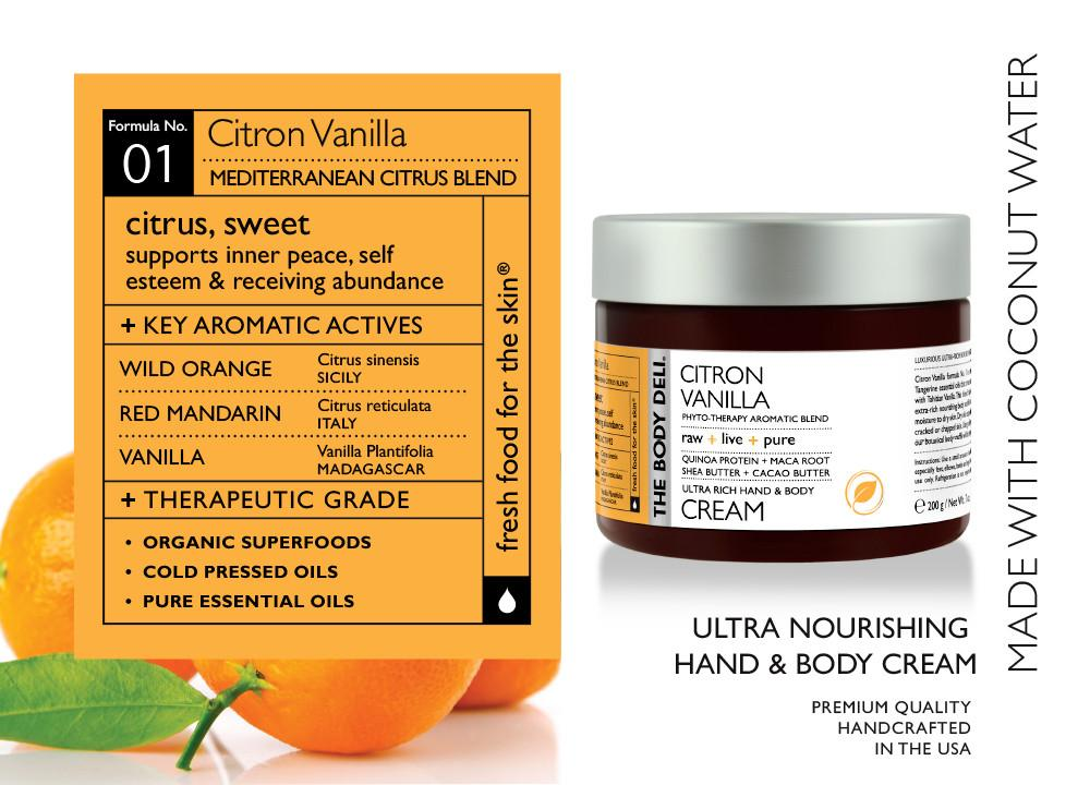 Citron Vanilla Hand & Body Cream