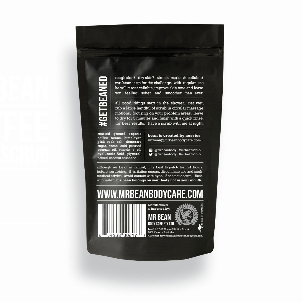 Coconut Coffee Scrub -Mr Bean Body Care - 2