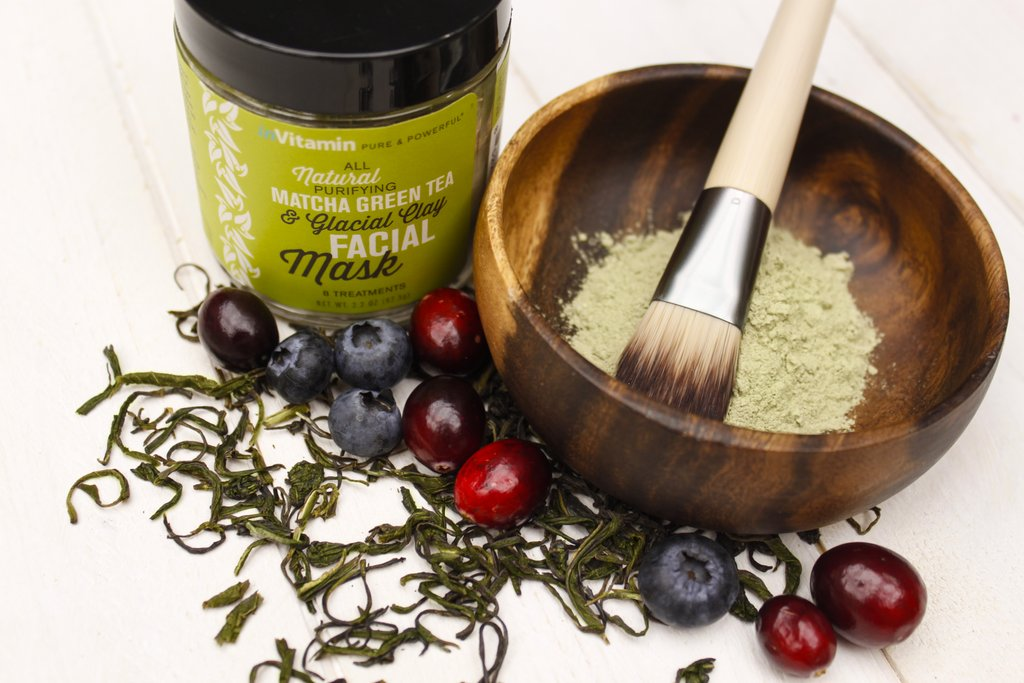 MATCHA GREEN TEA GLACIAL CLAY FACIAL MASK