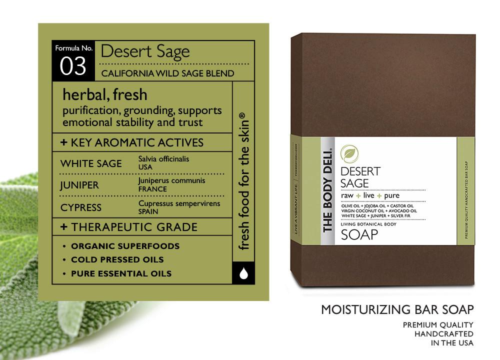 DESERT SAGE BOTANICAL BAR SOAP
