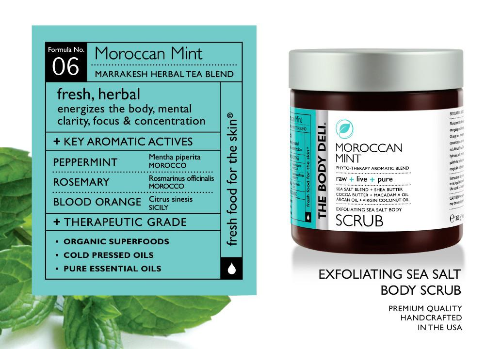 Moroccan Mint Body Scrub