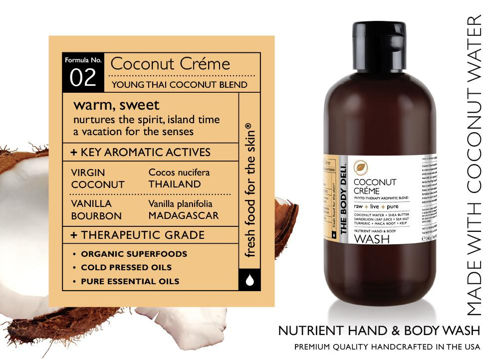 Coconut Créme Hand & Body Wash