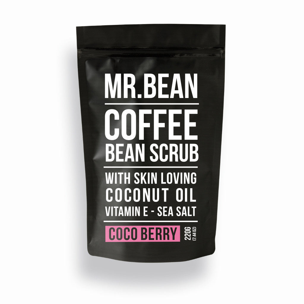 Coco Berry Coffee Scrub -Mr Bean Body Care - 1
