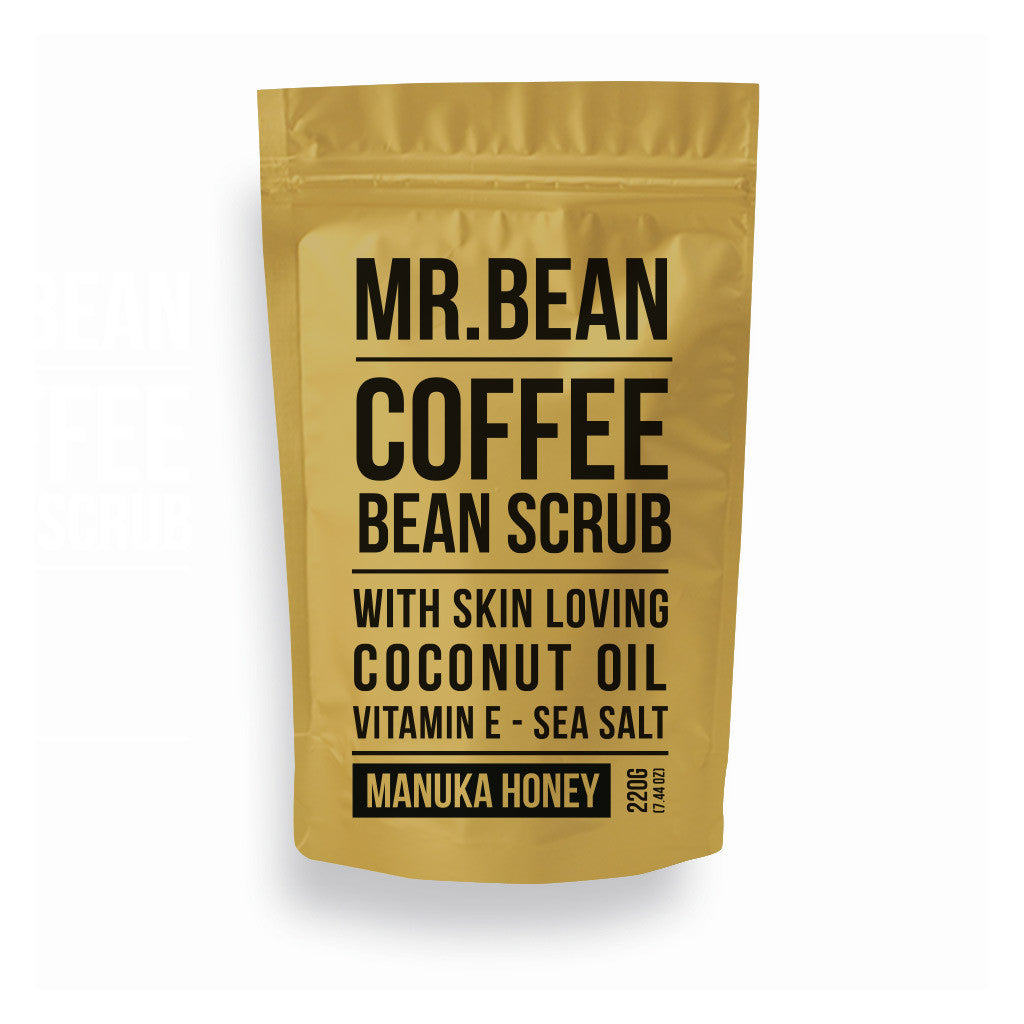 Manuka Honey Coffee Scrub -Mr Bean Body Care - 1