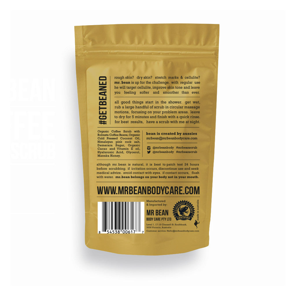 Manuka Honey Coffee Scrub -Mr Bean Body Care - 2