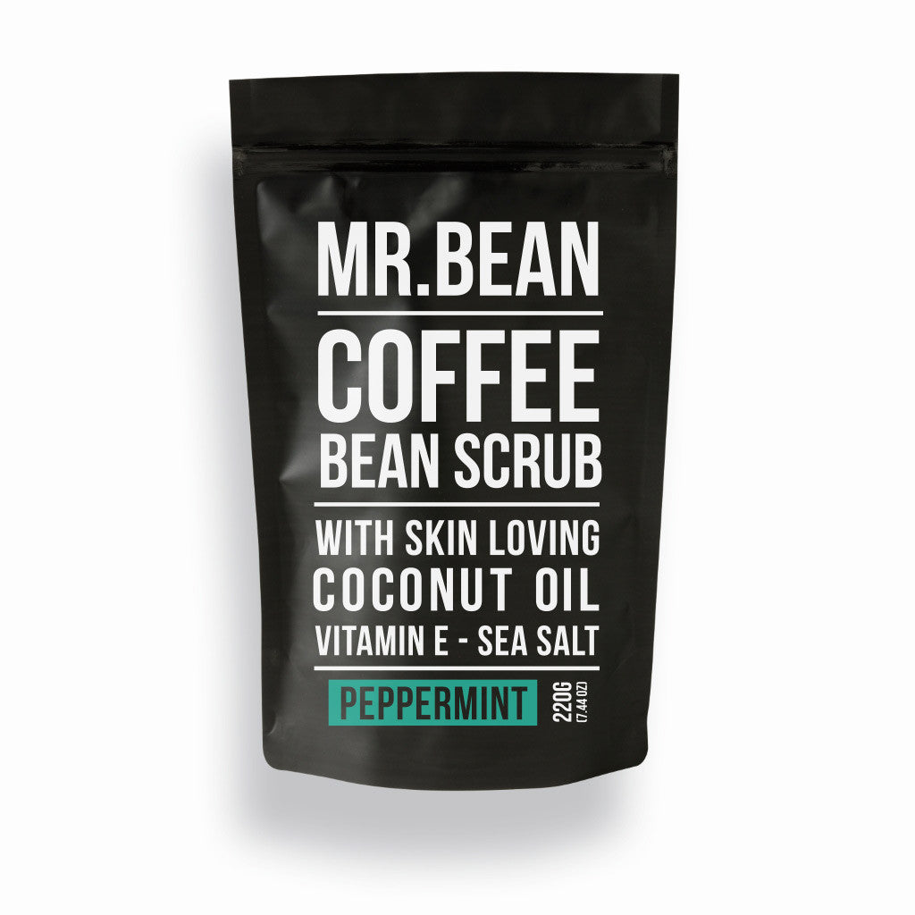 Peppermint Coffee Scrub -Mr Bean Body Care - 1
