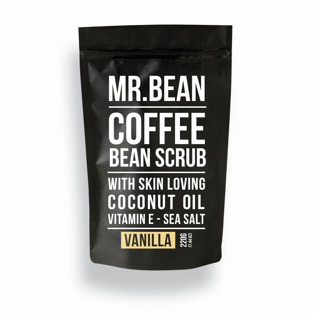 Vanilla Coffee Scrub -Mr Bean Body Care - 1