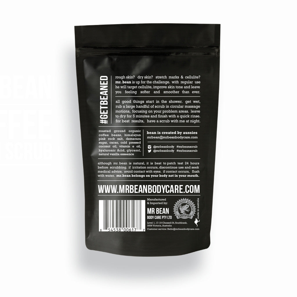 Vanilla Coffee Scrub -Mr Bean Body Care - 2
