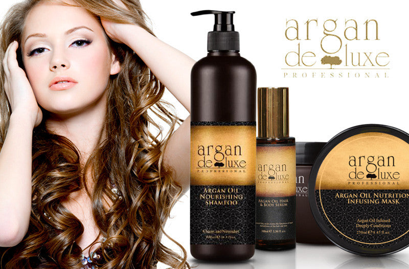 Argan Oil Curl-defining Cream 240ml -Argan Deluxe Professional - 2