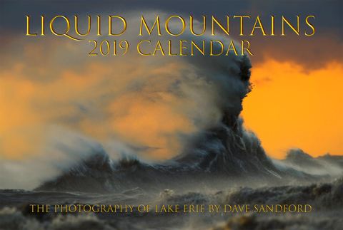 Lake Erie - Liquid Mountains 2019 Calendar