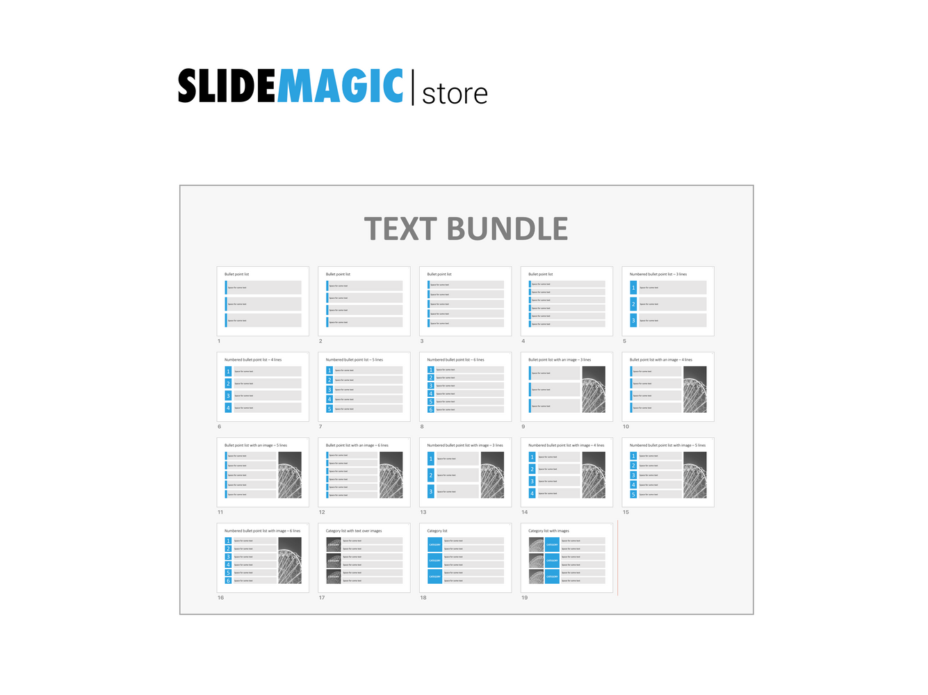 Text bundle