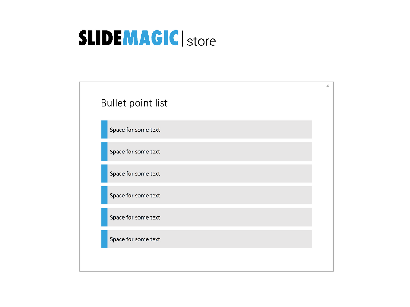 6 bullet points in PowerPoint
