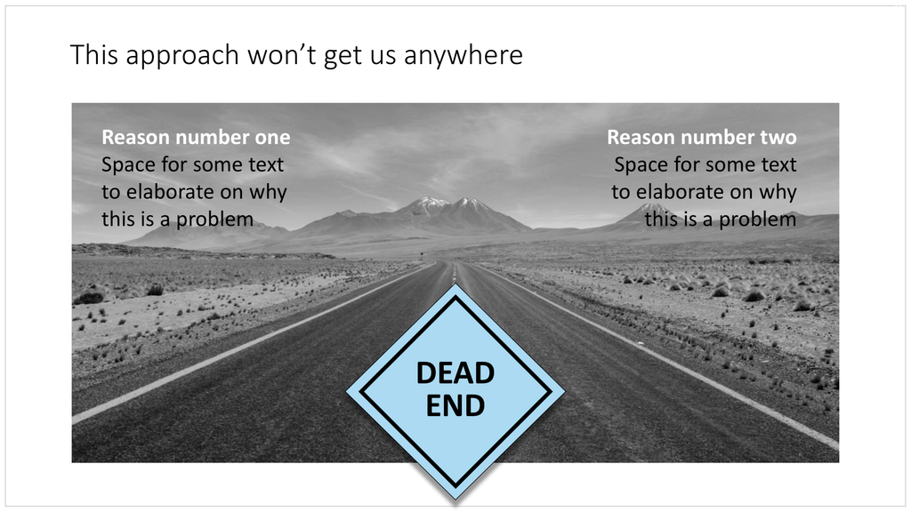 Dead end in PowerPoint