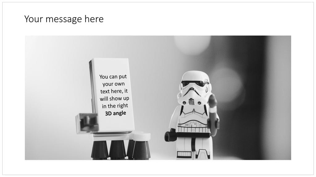 Stormtrooper in PowerPoint