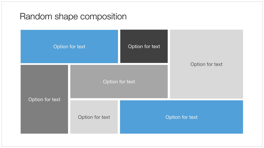 Shape collage in Apple Keynote