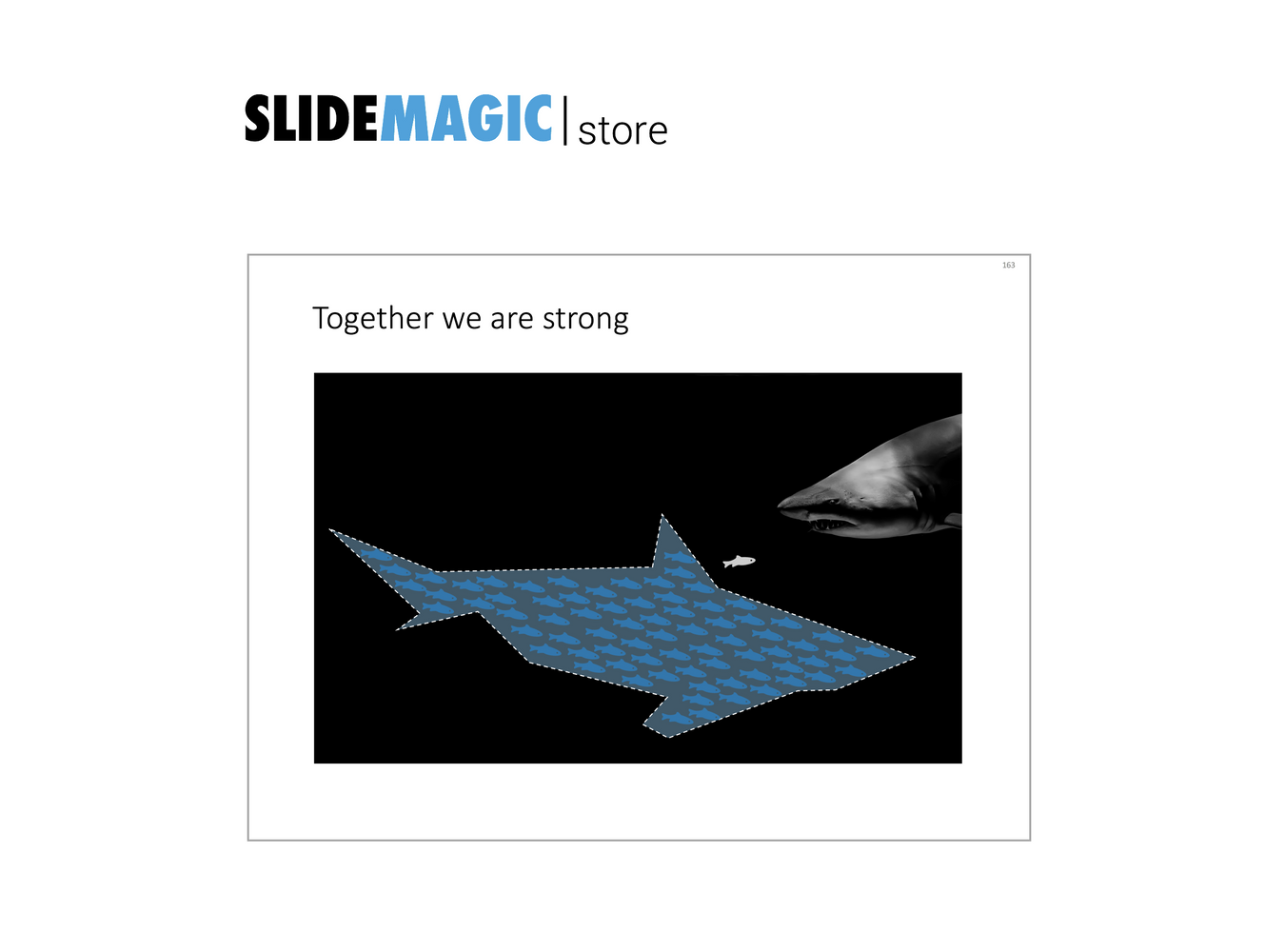 Sharks in PowerPoint