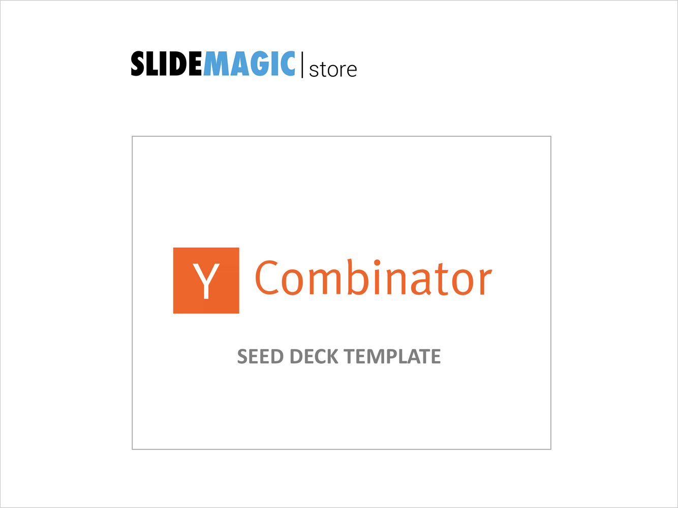 The YC Seed Deck Template (free)-