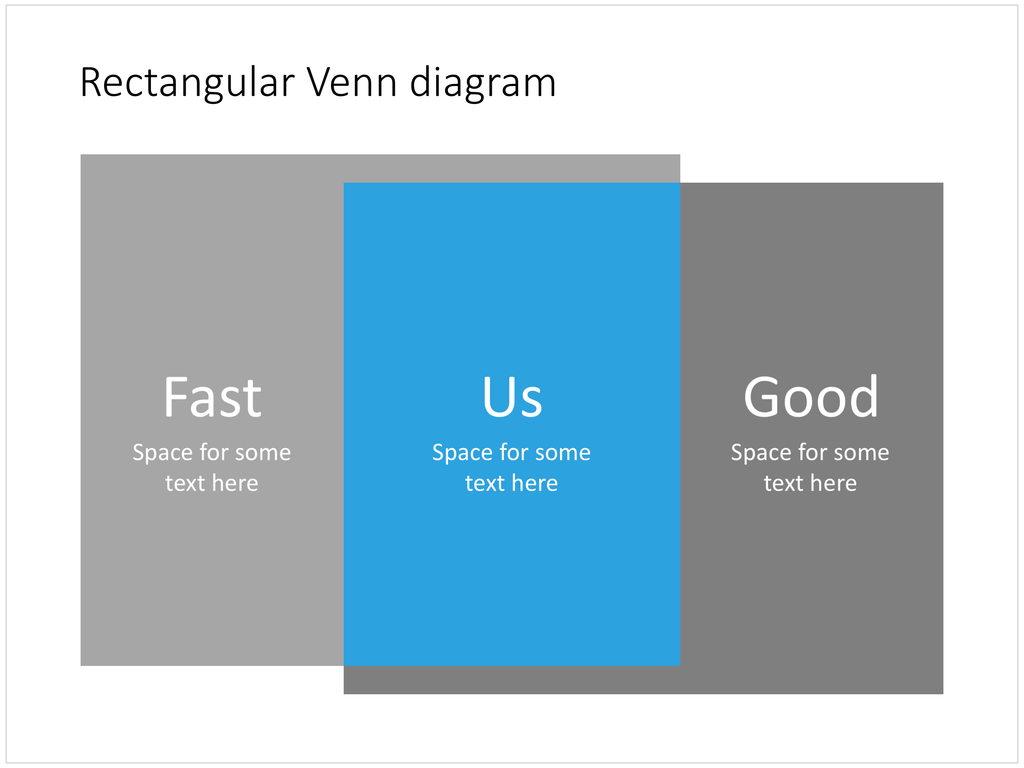 Venn diagram in powerpoint rectangular slidemagic venn diagram for powerpoint rectangles ccuart Image collections