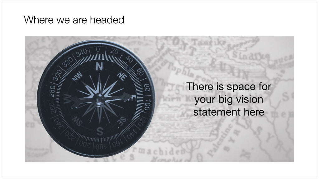 Compass in Apple Keynote