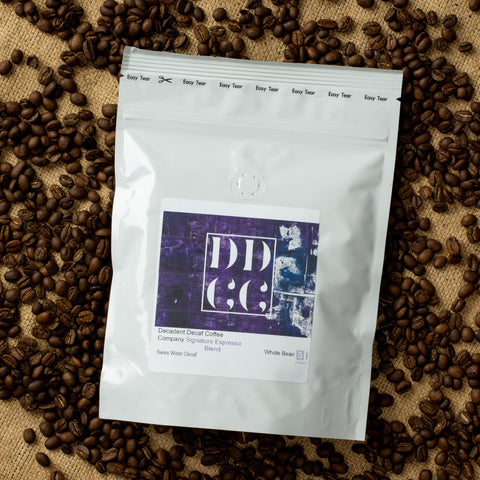 Swiss Water Decaf Decaffeinated Espresso Coffee