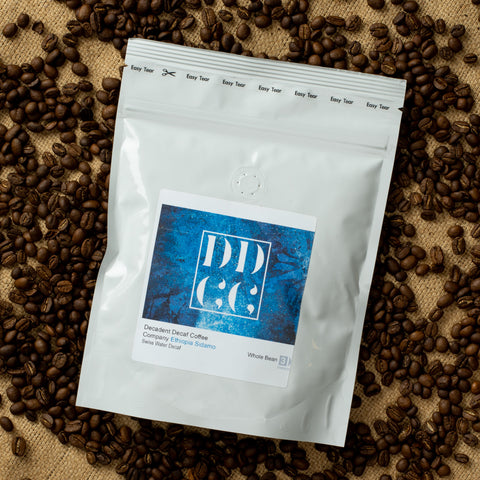 Swiss Water Decaf Decaffeinated Ethiopia Coffee