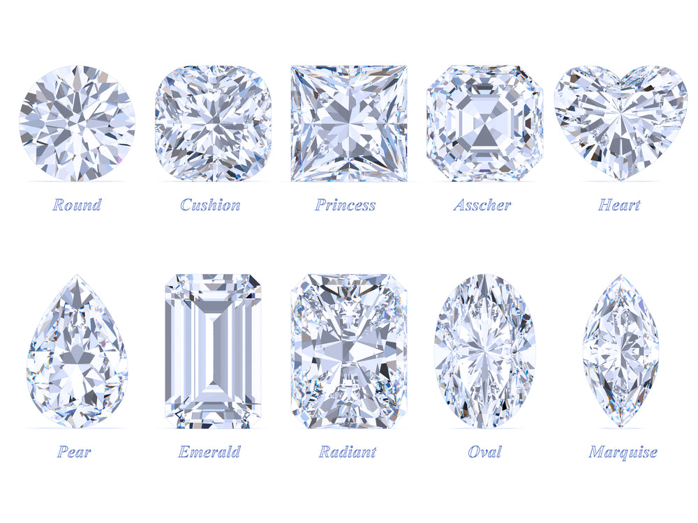 10 most popular diamonds cuts and shape for engagement rings