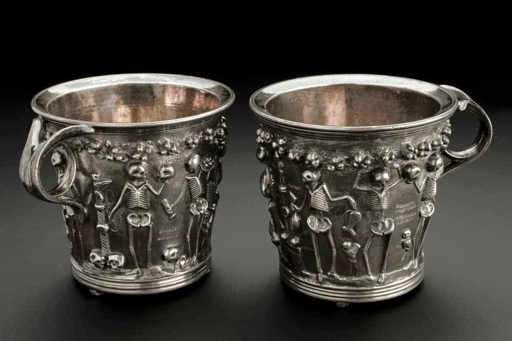 copy of silver roman cup wellcome